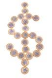 бразильские монетки Стоковое Изображение RF
