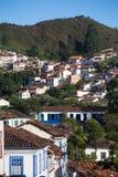 Бразильские дома на холме Стоковая Фотография