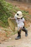 бразильский детский труд стоковое изображение rf
