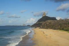 Бразильский пляж острова стоковое фото