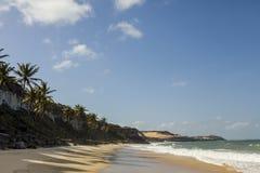 Бразильский пляж Стоковая Фотография RF