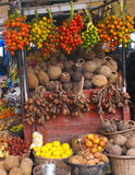 Бразильский рынок плодоовощ Стоковая Фотография