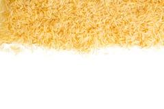 Брайн - грубый рис на белой предпосылке Стоковые Изображения