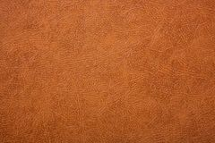 Брайн или текстурированная апельсином кожаная предпосылка абстрактная кожаная текстура Стоковые Фотографии RF