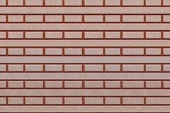 Брайн и красные плитки с симметричными формами Стоковое Фото