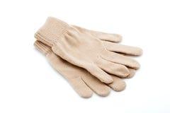 Брайн связал перчатки Стоковые Изображения