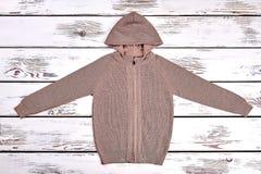 Брайн связал пуловер Стоковое Фото