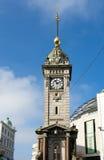 БРАЙТОН, ВОСТОЧНОЕ SUSSEX/UK - 1-ОЕ НОЯБРЯ: Башня с часами в Брайтоне Стоковые Фотографии RF