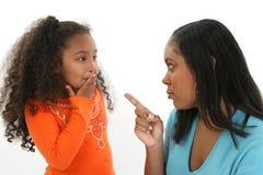 бранить мати дочи стоковые фото