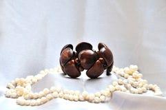 браслет деревянный Стоковая Фотография RF