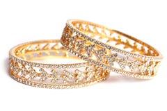 браслет золотистый Стоковая Фотография RF