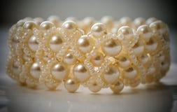 Браслет перлы Стоковое Изображение