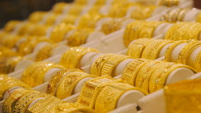 Браслеты золота на рынке в Дубай восточный рынок акции видеоматериалы