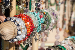браслеты цветастые Стоковая Фотография RF