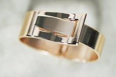 Браслет золота Стоковое Изображение RF