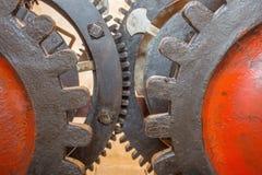 Братислава - деталь старой час-работы от башн-часов на соборе St Martins Стоковые Фотографии RF