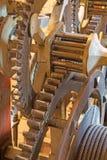 Братислава - деталь старой час-работы от башн-часов на соборе St Martins Стоковые Изображения