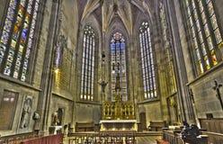 Братислава - пресвитерий собора St Martin от 15 цент Стоковое Изображение RF