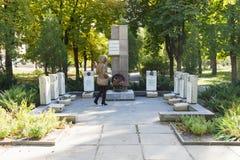 Братская могила солдат-интернационалистов Волгоград, Россия Стоковые Фотографии RF