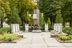 Братская могила солдат-интернационалистов Волгоград, Россия Стоковое Фото