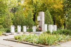 Братская могила солдат-интернационалистов Волгоград, Россия Стоковое Изображение