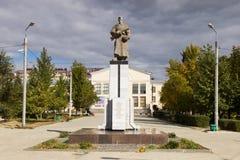 Братская могила солдат разделения 308 Волгоград, Россия Стоковое Изображение