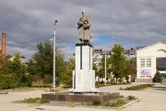 Братская могила солдат разделения 308 Волгоград, Россия Стоковые Фото