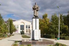 Братская могила солдат разделения 308 Волгоград, Россия Стоковое Фото