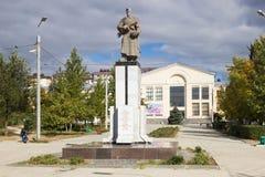 Братская могила солдат разделения 308 Волгоград, Россия Стоковое Изображение RF