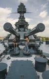 Братья пулемётчика линкора Стоковое Фото