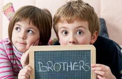 братья Стоковое Фото