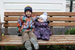 2 брать на стенде Стоковая Фотография