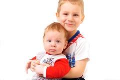 2 брать сидя на табуретке Стоковое Изображение