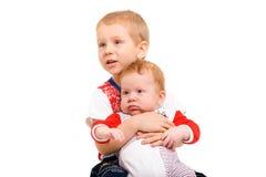2 брать сидя на табуретке Стоковые Фотографии RF
