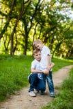 2 брать outdoors Стоковое Изображение