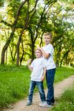 2 брать outdoors Стоковые Изображения
