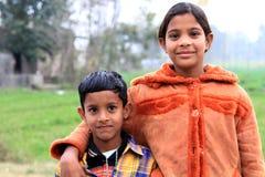Брат и сестра Стоковые Изображения