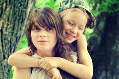 Брат и сестра Стоковые Изображения RF