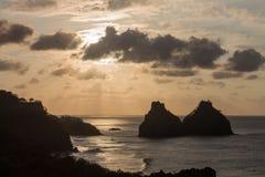 2 Брат Фернандо de Noronha Остров Стоковое Изображение RF