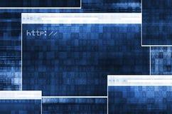 Браузеры веб-приложение иллюстрация вектора