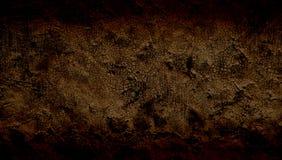 Браун затенял предпосылку grunge текстурированную стеной стоковая фотография rf