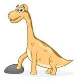 Брахиозавр шаржа Стоковое Изображение RF