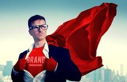 Бренд клеймя коммерчески дело Conce рекламы маркетинга стоковое изображение rf