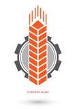 Бригада трактора логотипа Бесплатная Иллюстрация