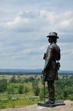 Бригадный генерал Gouverneur Уоррен - Gettysburg Стоковое Изображение RF