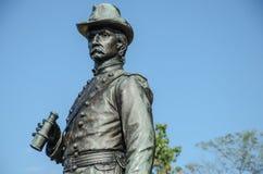 Бригадный генерал k Уоррен - Gettysburg Стоковая Фотография RF