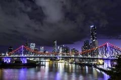 Брисбен Skyline2 Стоковые Фотографии RF