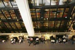 Британская библиотека - интерьер Стоковые Изображения