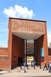 Британская библиотека Стоковые Фотографии RF