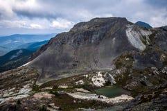 Британская Колумбия альпинизма Стоковые Фото